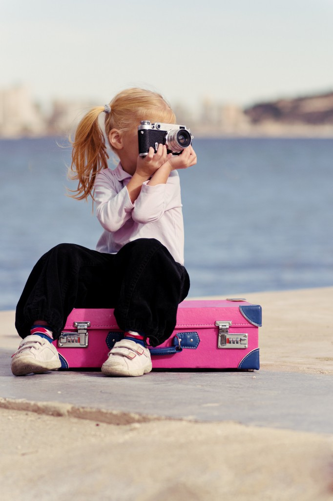 Holiday - Child with camera