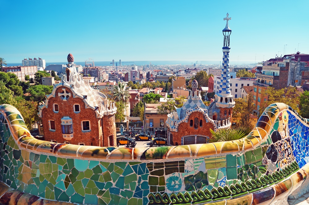 Parc Guell, Barcelona - Spain